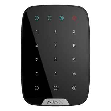 AJAX KeyPad black front