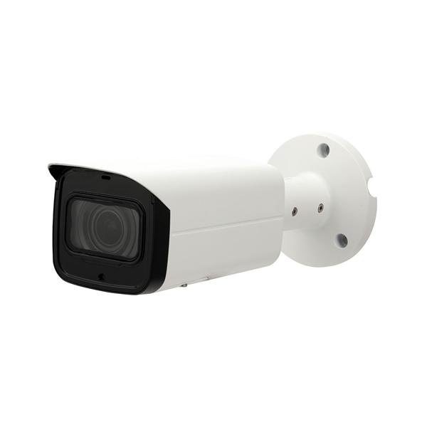 Afbeelding van IP Bullet camera 6MP white Motorised lens SD MIC