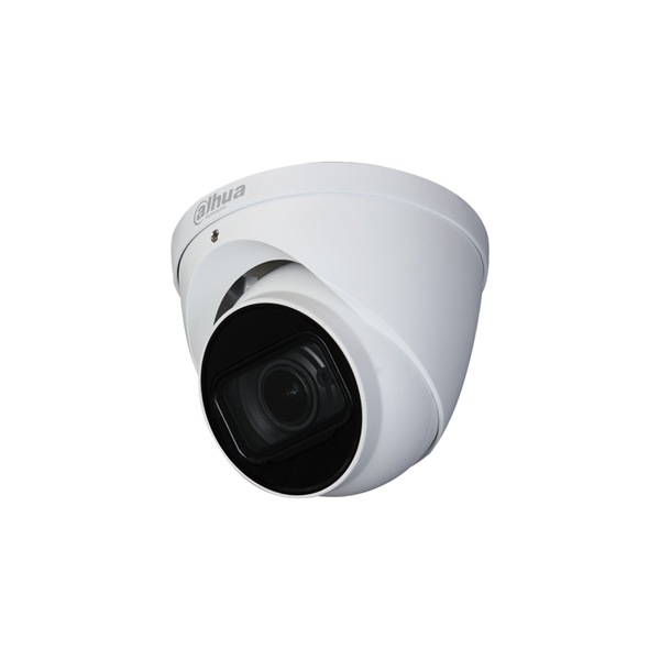 Image de HDCVI Dome camera 5MP white Motorised lens MIC