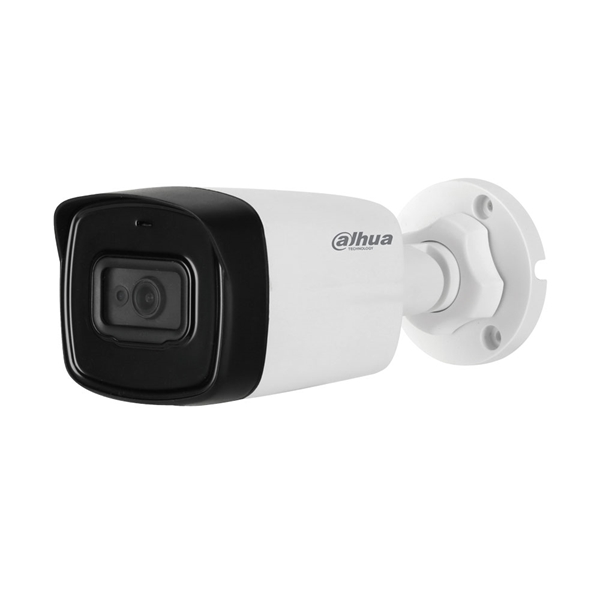 Afbeelding van HDCVI Bullet camera 2MP white Fixed lens MIC
