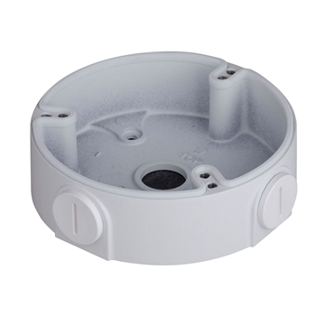 Afbeeldingen van Junction box DAH white 3 screws motorised dome