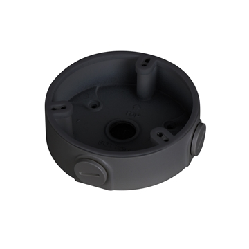 Afbeeldingen van Junction box DAH dark grey 3 screws fixed dome