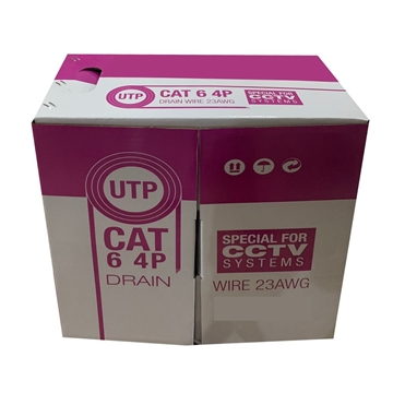 Picture of Roll 305m UTP CAT6 halogen-free fire-retardant