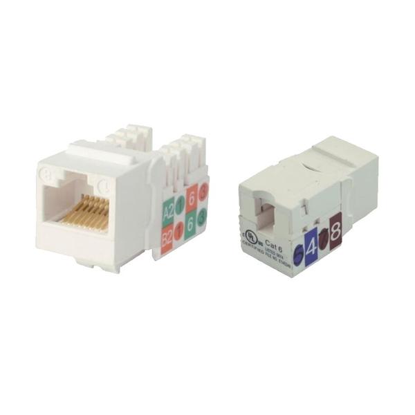 Afbeelding van Connectors RJ45 Module 10 pieces
