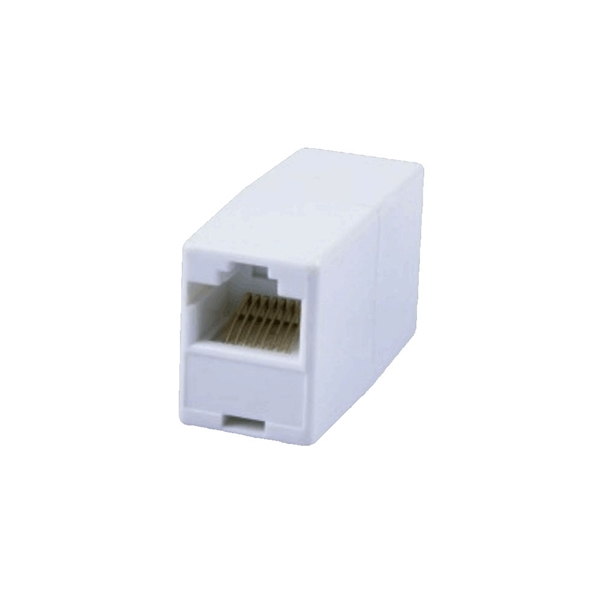 Picture of Connectors RJ45 female female adaptor 10 pieces
