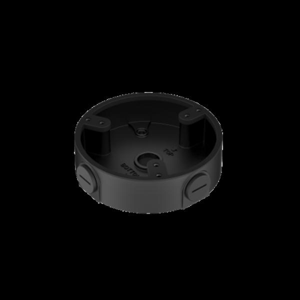 Afbeelding van Junction box DAH Black 3 screws motorised dome