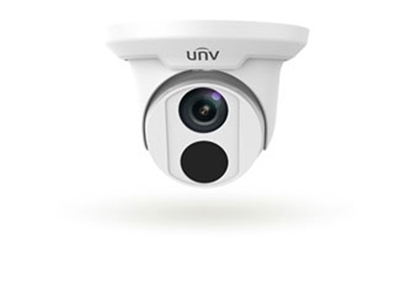 Afbeelding van IP Dome camera 4MP white fixed lens