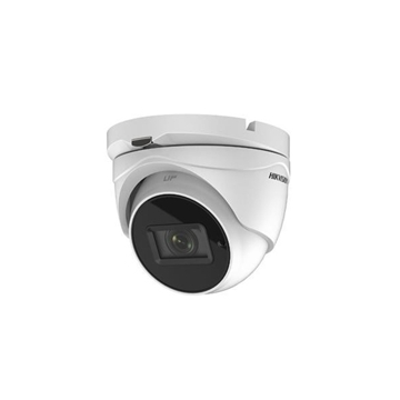 Afbeeldingen van HDTVI Dome camera 5MP white motorised lens POC