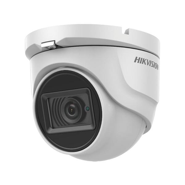 Afbeelding van HDTVI Dome camera 8MP white fixed lens