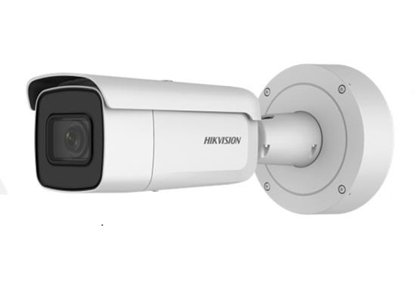 Afbeelding van IP Bullet camera 8MP white motorised lens MIC SD I/O